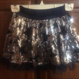 Girls Sequin Bling Skort Perfect Dallas Cowboys